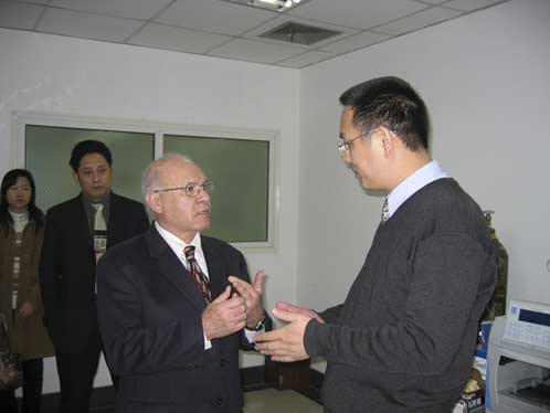 2003 Seminar at R&D Center, Shanghai Tobacco Group