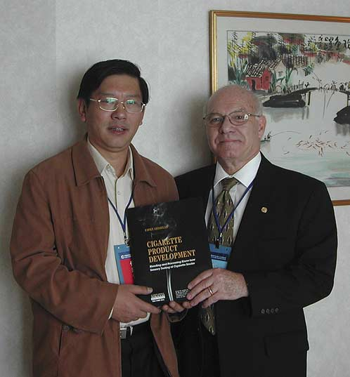 2004 CTS Meeting FMA & Sec. Gen. Zheng Fugang, Wuhan, China